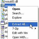 Extracting omni.zip