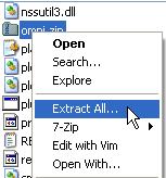 Extracting omni.zip